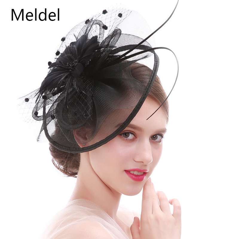 Bridal Net Headdress Fine Flower Hair Accessories Horse Racing Festival Hat Explosion Hair Clip Headdress