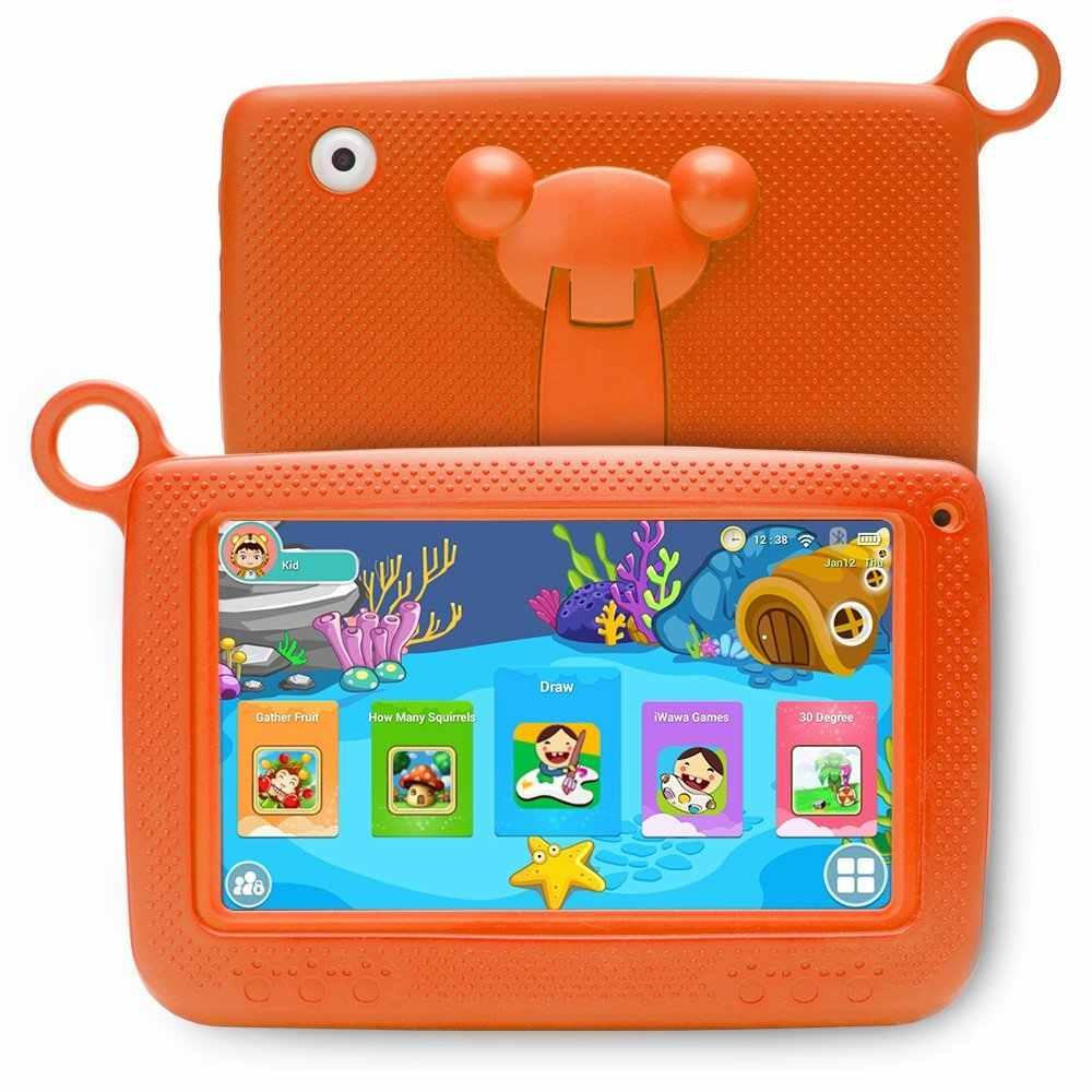 7 Inch Kids Tablet Android Dual Camera Wifi Onderwijs Game Gift Voor Jongens Meisjes Eu Us Plug Muziek Gift Voor kinderen Student
