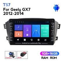 IPS Bildschirm 1280*720 Android auto multimedia-player für Geely GX7 EX7 Emgrand GX7 X7 autoradio di navigazione GPS radio 2Din DVD