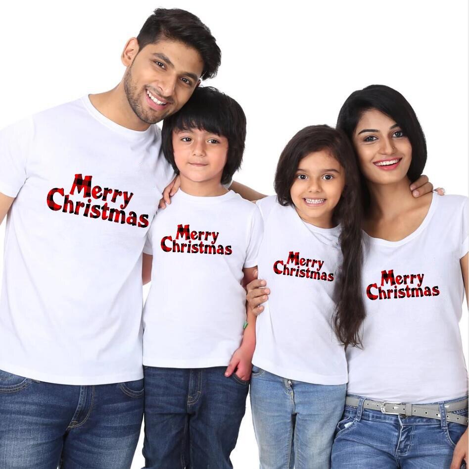 T-shirt joyeux noël pour famille | Vêtements assortis, maman et Me, tenues de Parents et enfants, T-shirt pour femmes, bébé fille et garçons