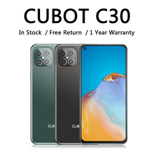 CUBOT C30 Smart Phone with NFC 4G Global Version Mobile Phones 48MP Rear Quad AI Camera 32MP Selfie smartphone android 10 256GB