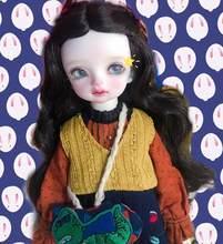 BJD bebek sevimli kız Serin riko mini denizkızı 1/6 boyutu Yosd yüksek kaliteli reçine oyuncaklar doğum günü hediyesi noel hediyesi çocuklar için