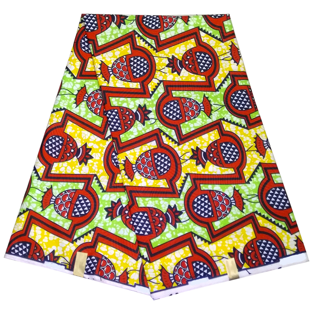 2019 Latest Polyester African Dutch Wax Print Fabric Guaranteed Real Dutch Wax High