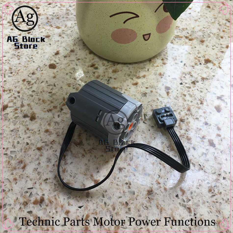 Teknik Bagian Kompatibel Legoed Motor Set Blok Bangunan Fungsi Power Receiver Multi Motor Listrik PF Dirakit Bata Mainan