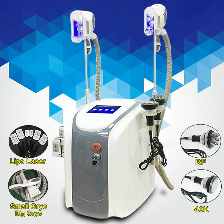 Lastest  Fat Freeze Reduce Weight Machine  Personal Use Lipo Laser  Cavitation RF Loss Weight Machine