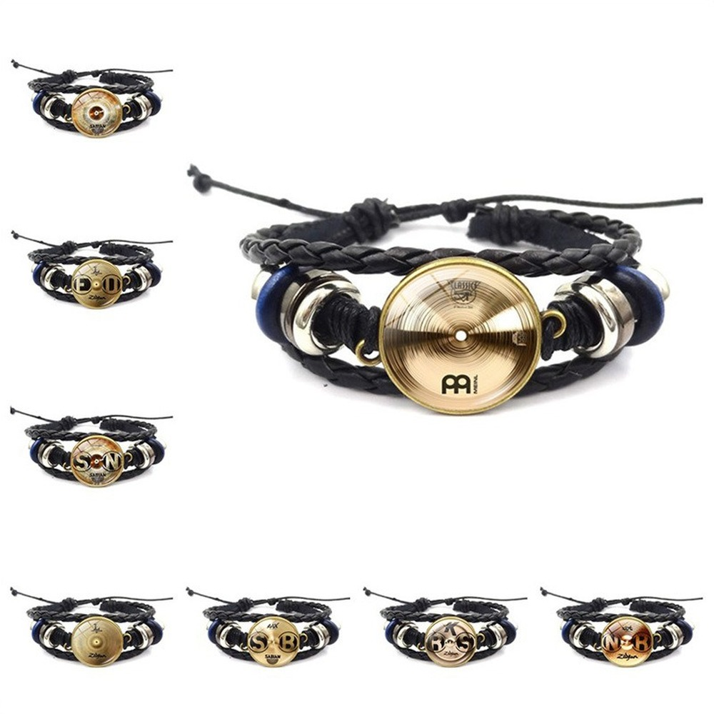 Bracelet New Accessories DJ Drummer Time Gem High-grade Retro Woven Bracelet Handmade Jewelry Bracelet For Women image
