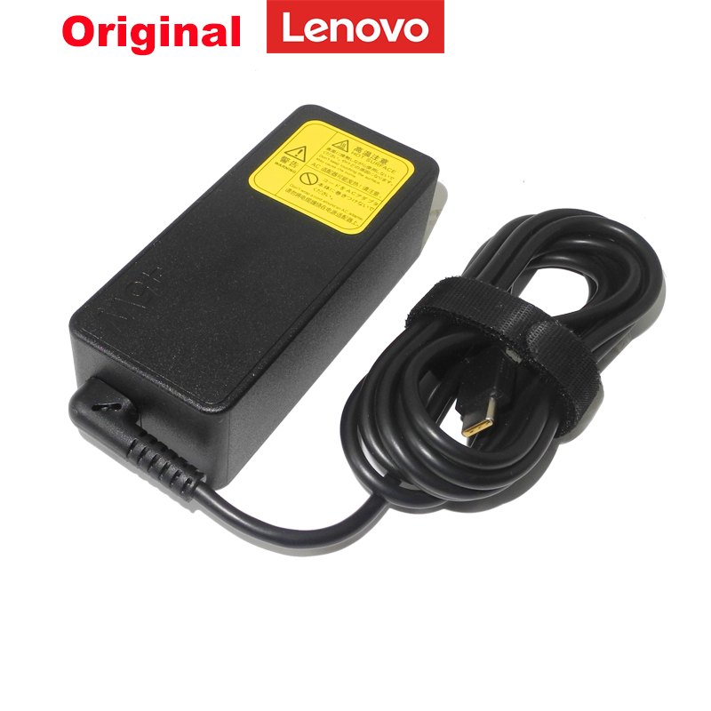 Original <font><b>20V</b></font> <font><b>2.25A</b></font> 45W USB-C Type-C Ac <font><b>Power</b></font> Adapter for <font><b>Lenovo</b></font> ThinkPad X1 YOGA910 ADLX45YLC3A <font><b>Laptop</b></font> Charger image