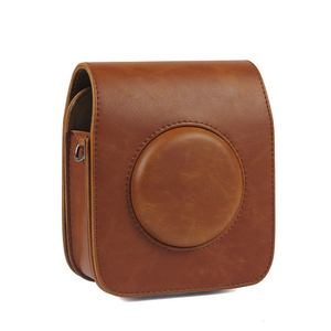 Image 5 - For Camera Protection Carry Cover FUJIFILM Instax SQUARE SQ20 SQ10 Camera Bag Case PU Leather Vintage Shoulder Strap Pouch