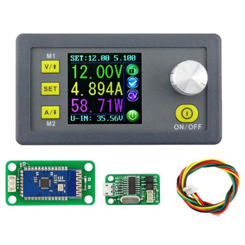 Dps3005 Communication Function Constant Voltage Current Step Down Power Supply Module Voltage Converter Lcd Voltmeter 32V 5A|AC/DC Adapters| |  - title=