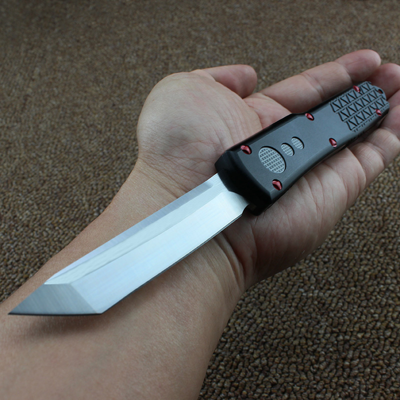 Hand tools OTF UT knife S E D2 blade aluminum handle camping survival EDC outdoor hunt Tactical Knives tool dinner kitchen knife in Knives from Tools