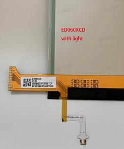 Image 4 - ED060XCD 100% new eink LCD Display screen with backlight no touch for ebook readers free shipping