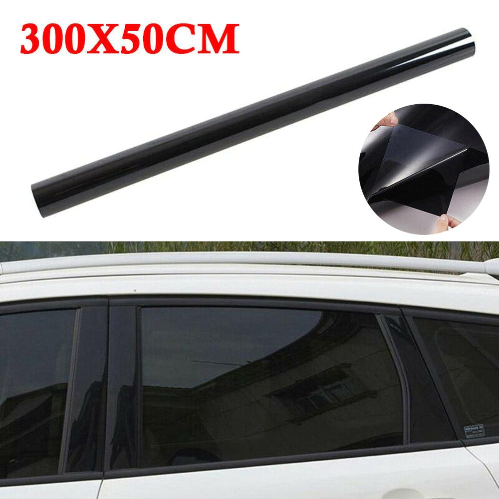Автомобильная изоляционная пленка для стекла, неотражающая окрашенная пленка, необработанная Тонировочная пленка для окон 20% VLT, 10 футов, ав...