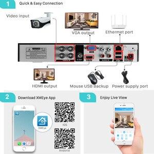 Image 5 - LOFAM cámara de seguridad AHD 1080P, 2MP, 4MP, 5MP, CCTV de vigilancia de Vídeo impermeable para interiores y exteriores, visión nocturna de día