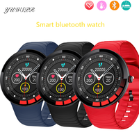 IP68 Wasserdichte Intelligente Uhr Herz Rate Blutdruck Sitzende Erinnerung Sport Fitness Smartwatch Geeignet Für Android IOS