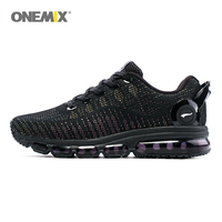 ONEMIX Reflective Upper Air Running Shoes Men Fashion Sports Shoes Casual Outdoor Walking Jogging Sneakers Max 12 Trainers