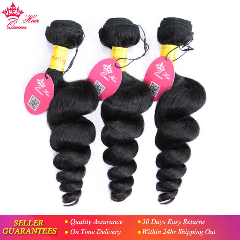 Peruvian Virgin Hair Loose Wave Bundles Thick Human Hair Weave Extension Natural Color Unprocessed Raw Hair Weaving Queen Hair