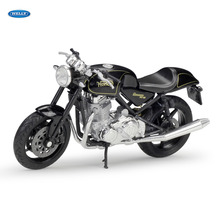 WELLY 1:18  Norton Commando 961 SE   Diecast Alloy Motorcycle Model Toy For Children Birthday Gift Toys Collection welly 1 18 yamaha yp240dx diecast alloy motorcycle model toy for children birthday gift toys collection