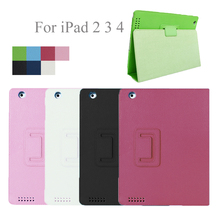 Tablet Accessories Full Protector Cover Shell Case For Apple iPad 2 2nd 3 3rd 4 4th 9.7 Hard PU Smart Magentic Folio Flip Holder tablet hard cover for apple ipad 2 3 4 ipad 4 3 magnetic stand pu leather cover gift smart smart fold flip shell skin protector