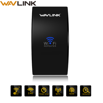 Wavlink 300mbps Wi-Fi longue portée Extender sans fil Wifi répéteur 2.4G réseau WIFI amplificateur de Signal installation facile Point d'accès wifi