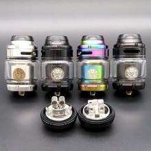 Cigarette électronique vaporisateur Vape réservoir Zeus X RTA atomiseur MTL RTA 4.5ml liquide pour Vape Mech boîte Mod Mechmod Vaper