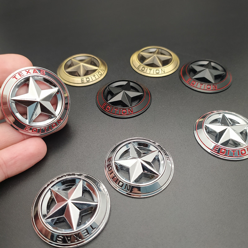 2 шт. автомобильный Стайлинг эмблема «TEXAS EDITION» Логотип 3D металлическая наклейка эмблема значок наклейка для универсальных автомобилей Мото...