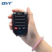 QYT BT89 kablosuz bluetooth el mikrofonu hoparlör QYT KT 7900D KT 8900D KT UV980 artı mobil radyo