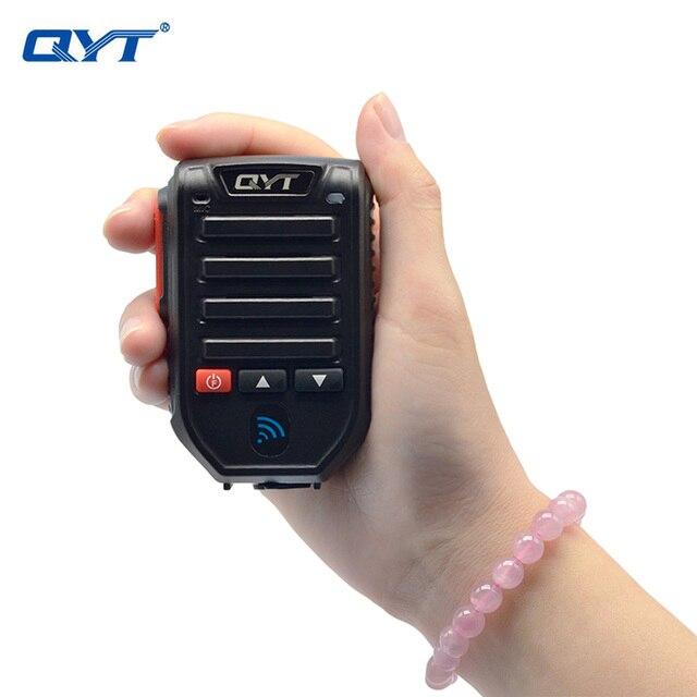 Qyt bt89 무선 블루투스 핸드 헬드 마이크 스피커 qyt KT 7900D KT 8900D KT UV980 플러스 모바일 라디오