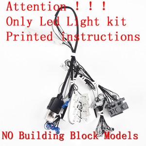 Image 2 - MTELE Light Kit ONLY For Technic/Creator/Car Compatible With 42083/10220/21108/42056/10242/10269/42096/42093/10248/10258/10265