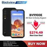 Blackview-móvil BV9900E Helio P90, 6GB + 128GB, resistente al agua IP68, 4380mAh, cámara de 48MP, NFC, Android 10