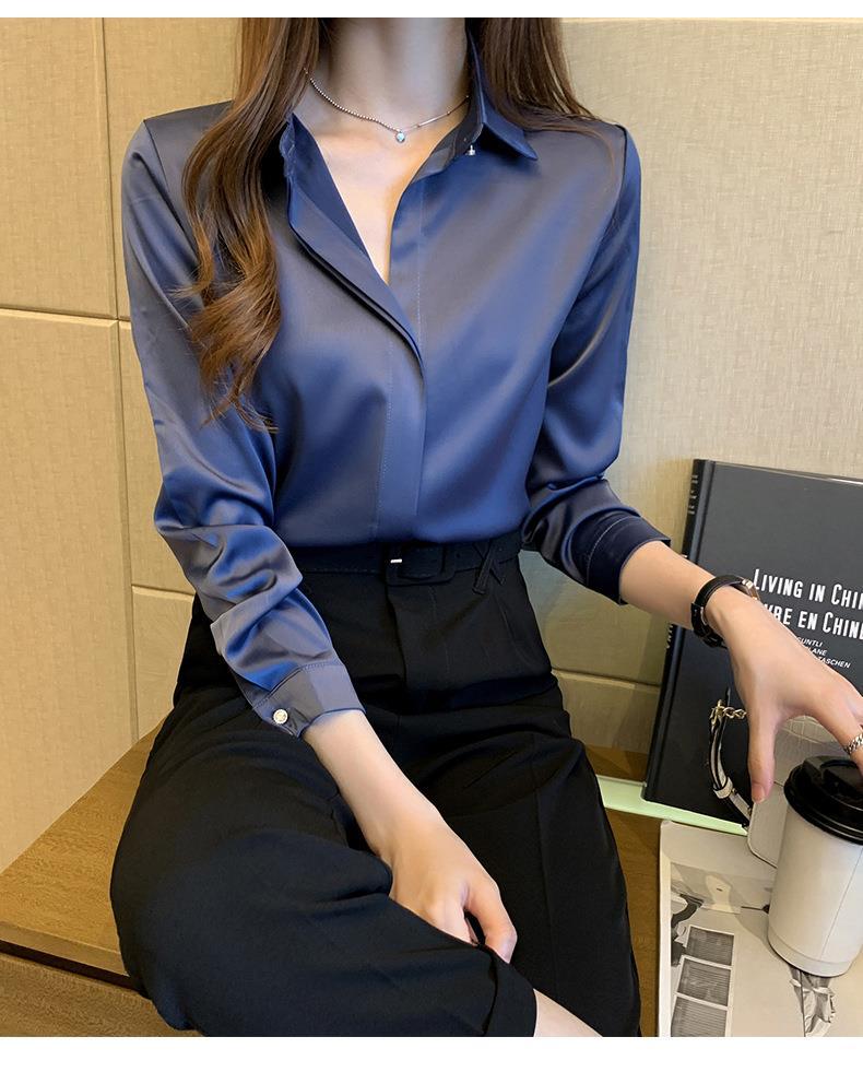 Long Sleeve Shirts Blouse