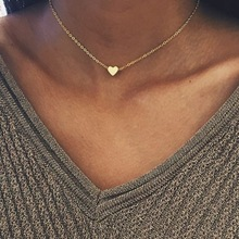 316L Fashion Love Necklace Ladies Stainless Steel Short Clavicle Chain Necklace Wholesale Jewelry Distribution stainless steel hollow egyptian head necklace women jewelry personality portrait accessories ladies clavicle chain necklace