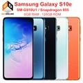 Оригинальные разблокированные Мобильные телефоны Samsung Galaxy S10e G970U G970U1, Snapdragon 855, 6 ГБ ОЗУ, 128 Гб ПЗУ, Восьмиядерный процессор, 5,8 дюймов, NFC