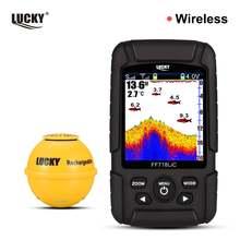Lucky ff718lic wla беспроводной портативный рыболокатор 45 м/147