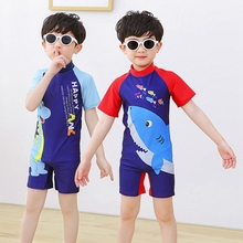 Kids Swimsuits Swimwear One Piece Bathing Suit Cartoon Baby Beachwear Boys Girls Swimming Suit Infant Toddler Child Swimwear