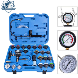 28 Stuks Auto Speciale Reparatie Tool Radiator Druk Tester Vacuüm-Type Koelsysteem Test Water Tank Lek Detectie Detector tool