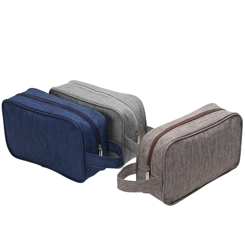 Brand Women Men Small Waterproof Makeup bag Travel Beauty Cosmetic Bag Organizer Case Necessaries Make Up Toiletry Bag in Cosmetic Bags Cases from Luggage Bags