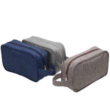 Brand Women Men Small Waterproof Makeup bag Travel Beauty Cosmetic Bag Organizer Case Necessaries Make Up Toiletry Bag цена
