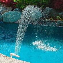 Плавающий рыбный бассейн подводный Регулируемый фонтан водопад пластиковые украшения