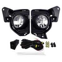 Kits de luz nevoeiro à prova dwaterproof água alta potência condução luz para toyota hiace 2014 12 v 55 w 4300 k carro frente lâmpada soquete estilo do farol