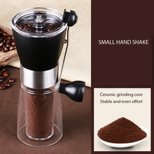 Hand Grinder Coffee Machine Modern Stainless Manual Kitchen Grinding Pepper Coffee Nuts Pills Spice Grinder