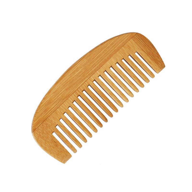 Высококачественная Антистатическая расческа для волос, Освежающий массаж кожи головы, сохраняет волосы гладкими, натуральные бамбуковые в...