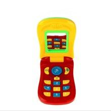 Детский электронный игрушечный телефон для детей Детские Мобильный