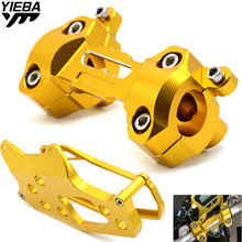 Motorcycle Speedometer Cover Case with Handlebar Fat Bar Risers Mount Clamp For Yamaha MT-09 FZ-09 MT 09 FZ 09 MT09 2013-2016 kemimoto for yamaha mt 09 fz 09 mt 09 mt09 2014 2015 2016 motorcycle accessories adjustable handlebars handle bar with clamp kit