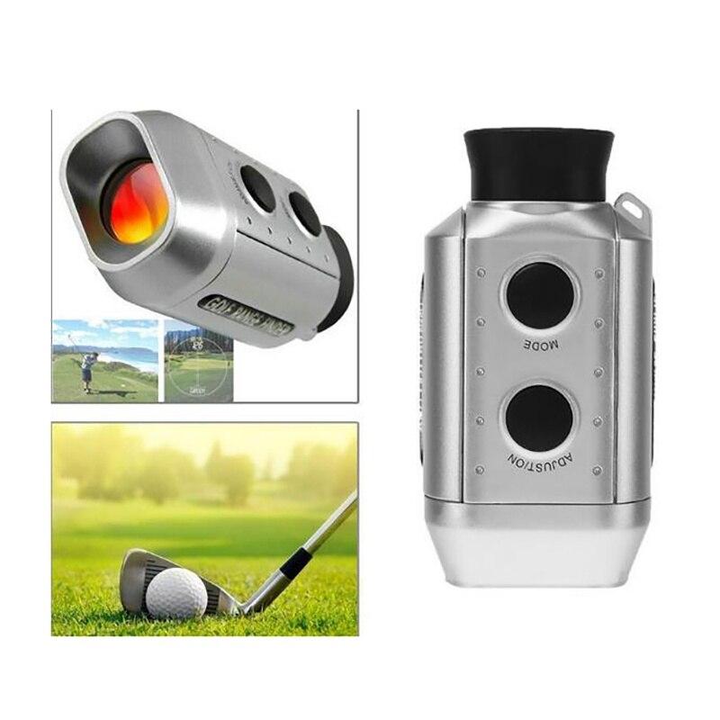 Digital 7x monocular telescópio laser rangefinder handheld
