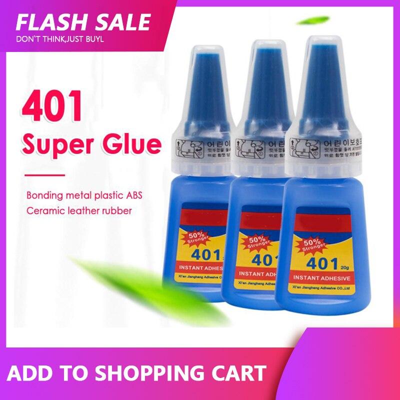 Клей ПВХ Loctite 401, мгновенный клей 20 г, прочный супер клей в бутылке, многофункциональные новые клейкие уплотнители 2020