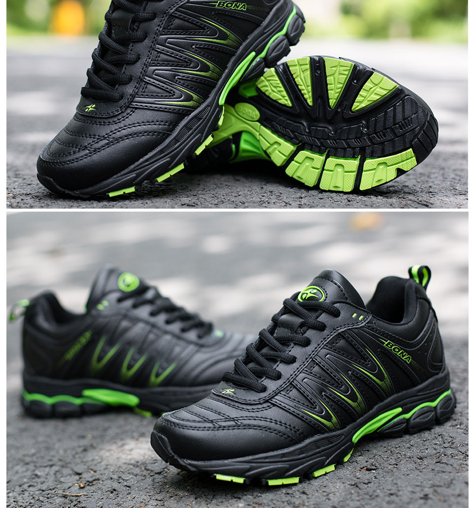 H2412b39f44dc465fba34b43a5b9db9c50 BONA 2019 New Designers Casual Shoes Men Style Cow Split Sneakers Male Lightweight Outdoor Fashion Footwear Man Trendy Comfy