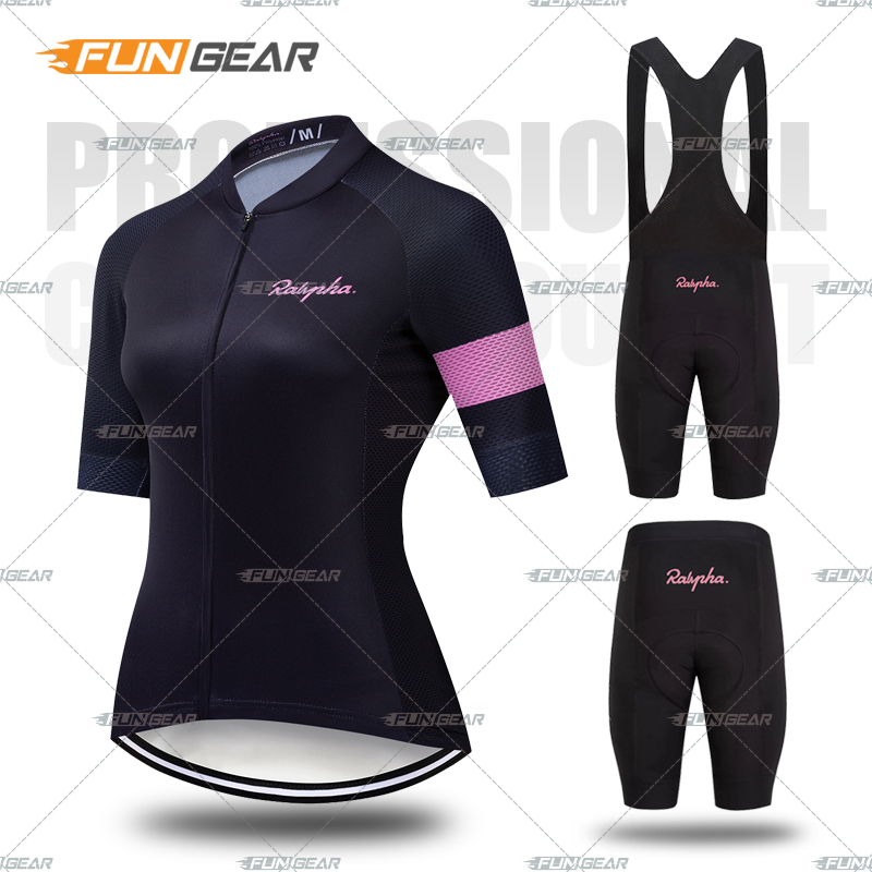 New Women Pro Cycling short sleeve Jersey Set Summer Breathable Sports Suit MTB Bike Clothing Female Bicycle Clothes Casual Wear|Cycling Sets| |  -