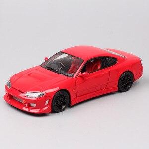 1:24 весы Welly Nissan Silvia S15 Spec-S Mona Lisa sport car Diecasts & Toy Vehicles модель Replicas миниатюрная коллекция