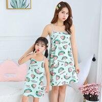Vestidos de algodón para niñas, ropa de dormir para bebés, pijamas de princesa, camisón de unicornio