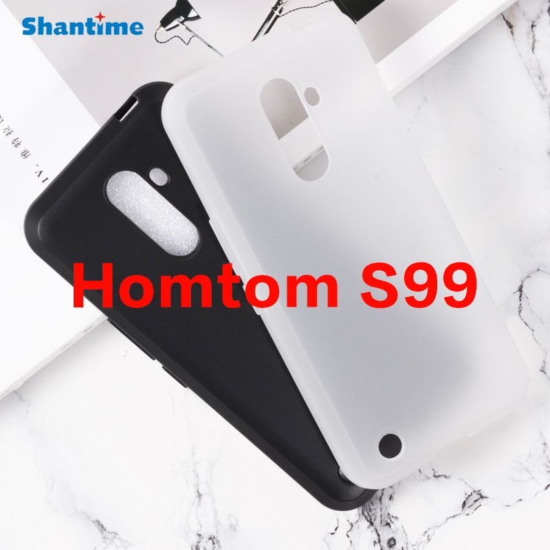 For Homtom S99 Gel Pudding Silicone Phone Protective Back Shell For Homtom S99 Soft TPU Case(China)